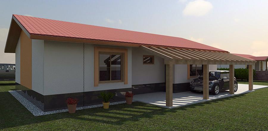 Montovany dom Eco 101b1 900x440 Montovaný dom ECO   101