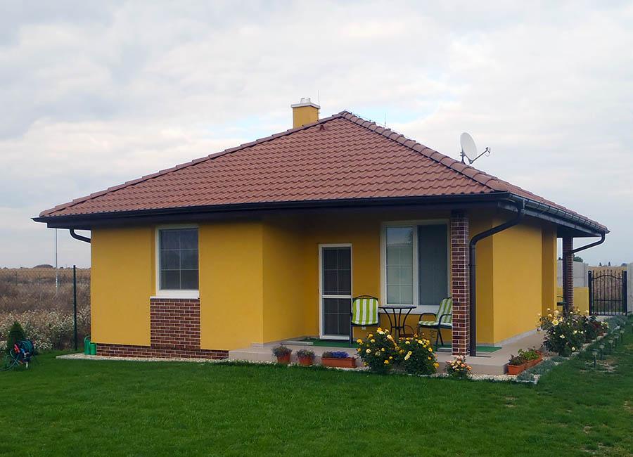 Drevodom Eco 109 Kvetoslavov c Montovaný dom ECO   109