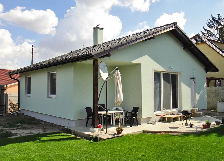 Drevodom Eco 110 Dunajska Luzna a Montovaný dom ECO   110