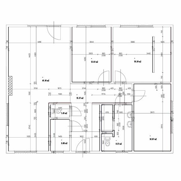 Eco 119 Podorys Montovaný dom ECO – 119