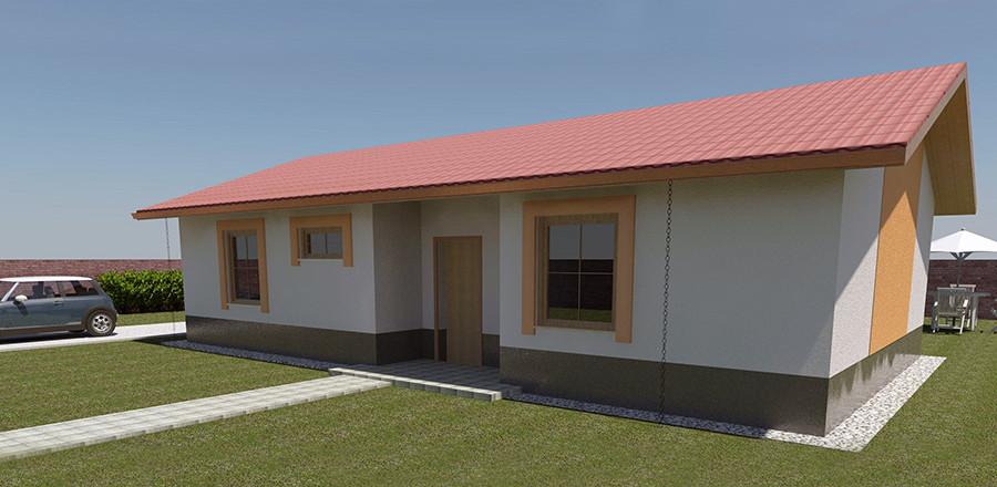 Nizkoenergeticky dom Eco 101 a Ecostav 900x440 Montovaný dom ECO   101