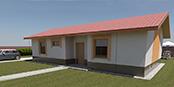 Nizkoenergeticky dom Eco 101 a Ecostav nav Montovaný dom ECO   102
