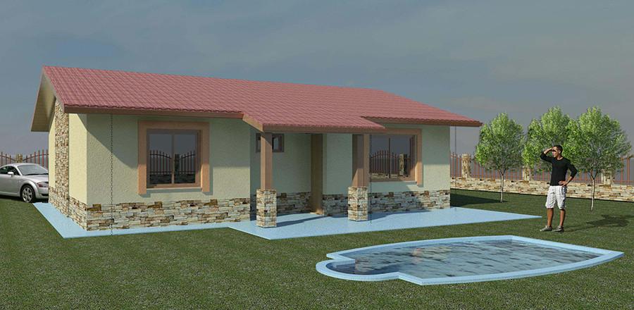 Nizkoenergeticky dom Eco 102 a Ecostav 900x440 Montovaný dom ECO   102