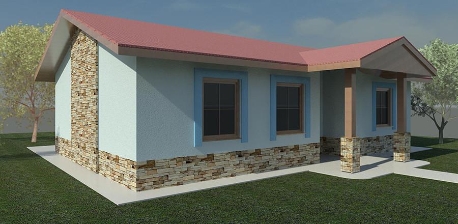 Nizkoenergeticky dom Eco 102 d Ecostav 900x440 Montovaný dom ECO   102