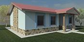 Nizkoenergeticky dom Eco 102 d Ecostav nav Montovaný dom ECO   101