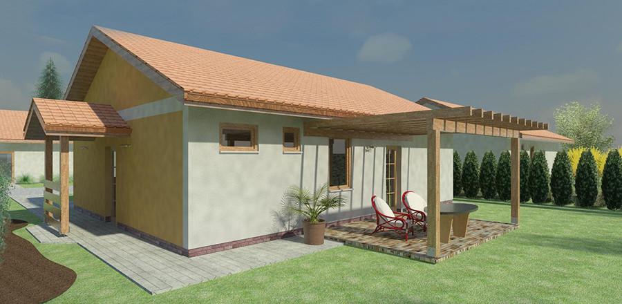 Nizkoenergeticky dom Eco 103 a Ecostav 900x440 Montovaný dom ECO   103