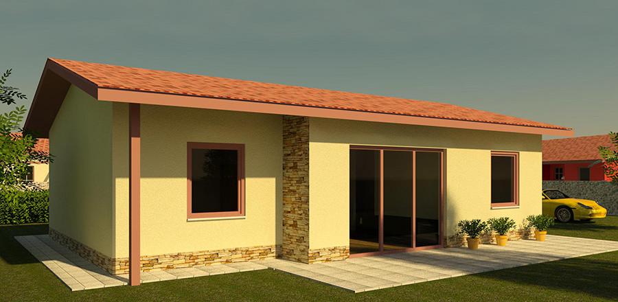 Nizkoenergeticky dom Eco 104 a Ecostav 900x440 Montovaný dom ECO   104