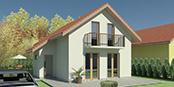 Nizkoenergeticky dom Eco 105 a Ecostav nav Montovaný dom ECO   106