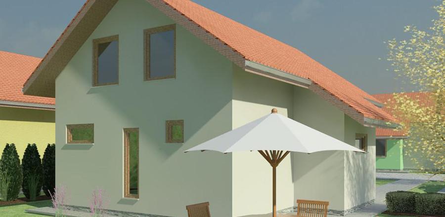 Nizkoenergeticky dom Eco 105 b Ecostav 900x440 Montovaný dom ECO   105