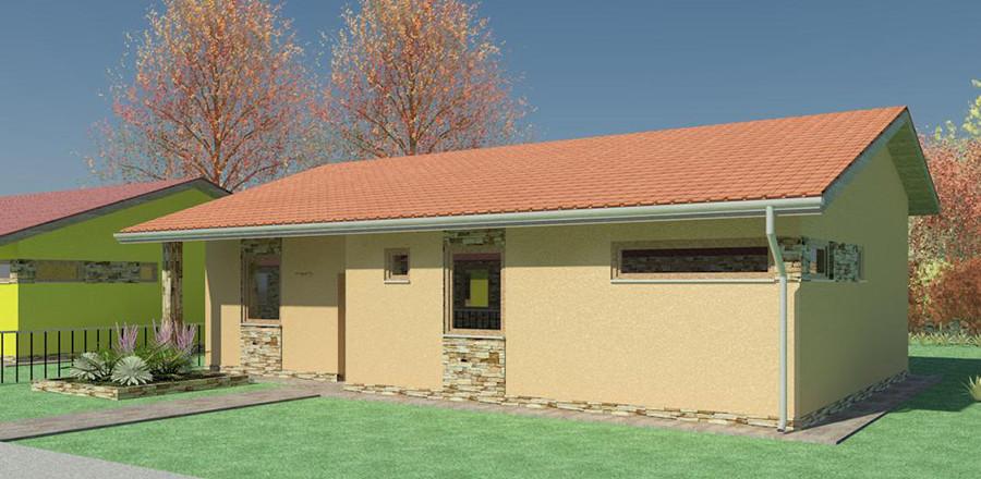 Nizkoenergeticky dom Eco 106 a Ecostav 900x440 Montovaný dom ECO   106