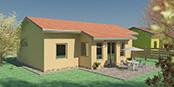 Nizkoenergeticky dom Eco 106 b Ecostav nav Montovaný dom ECO   105