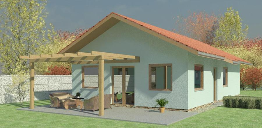 Nizkoenergeticky dom Eco 107 a Ecostav 900x440 Montovaný dom ECO   107
