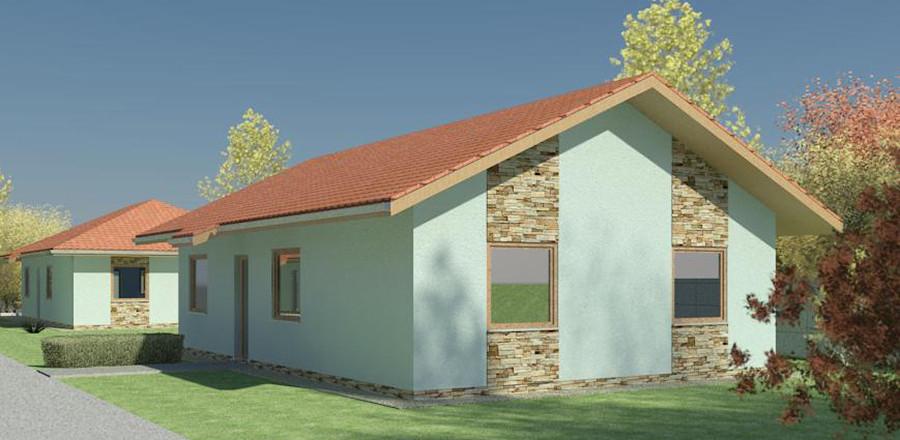 Nizkoenergeticky dom Eco 107 b Ecostav 900x440 Montovaný dom ECO   107