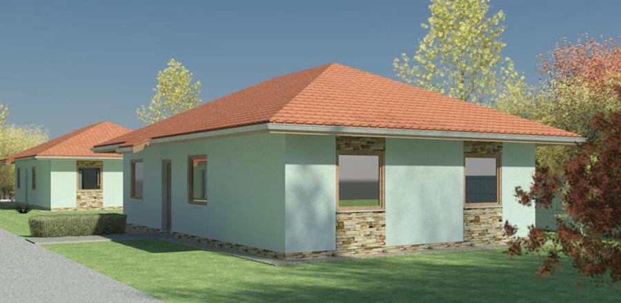 Nizkoenergeticky dom Eco 108 b Ecostav 900x440 Montovaný dom ECO   108