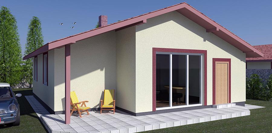Nizkoenergeticky dom Eco 110 a Ecostav 900x440 Montovaný dom ECO   110