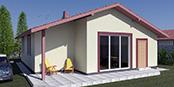 Nizkoenergeticky dom Eco 110 a Ecostav nav Montovaný dom ECO   109