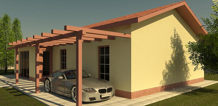 Nizkoenergeticky dom Eco 111 a Ecostav 900x440 Montovaný dom ECO   111