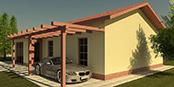 Nizkoenergeticky dom Eco 111 a Ecostav nav Montovaný dom ECO   112