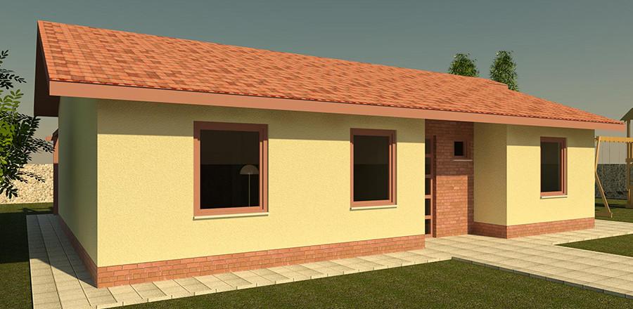 Nizkoenergeticky dom Eco 111 b Ecostav 900x440 Montovaný dom ECO   111