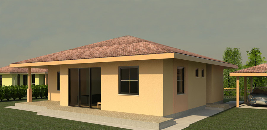 Nizkoenergeticky dom Eco 112 a Ecostav 900x440 Montovaný dom ECO   112