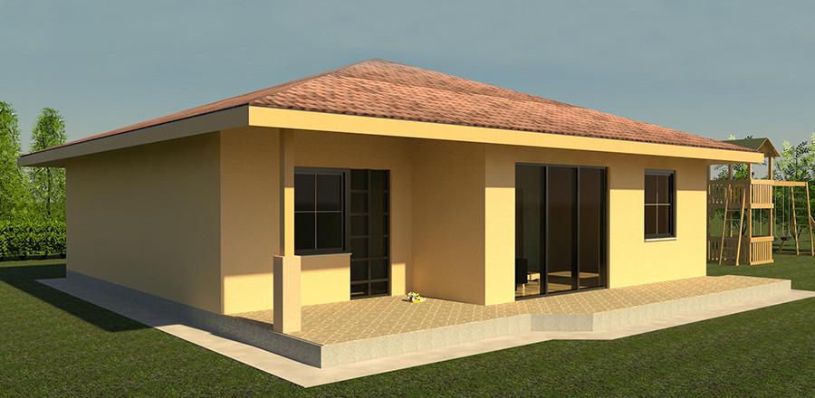 Nizkoenergeticky dom Eco 112 b Ecostav 900x440 Montovaný dom ECO   112