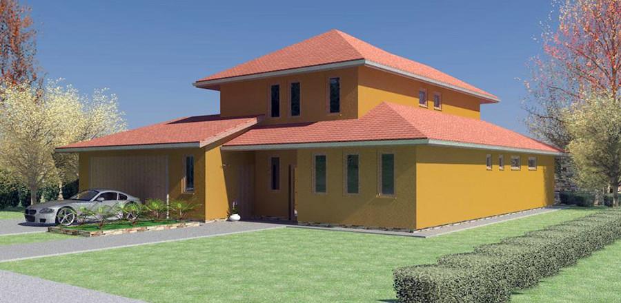 Nizkoenergeticky dom Eco 113 a Ecostav 900x440 Montovaný dom ECO   113