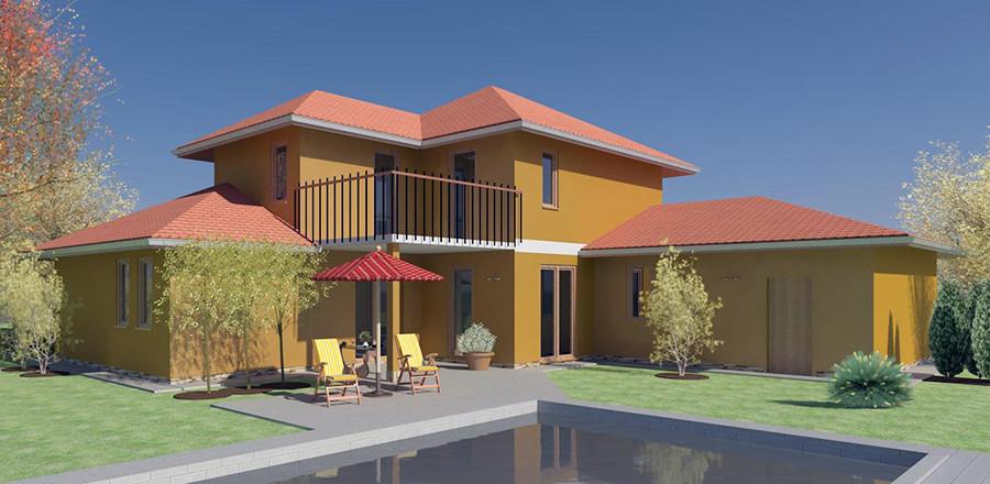 Nizkoenergeticky dom Eco 113 b Ecostav 900x440 Montovaný dom ECO   113