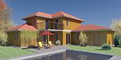 Nizkoenergeticky dom Eco 113 b Ecostav nav Montovaný dom ECO   114