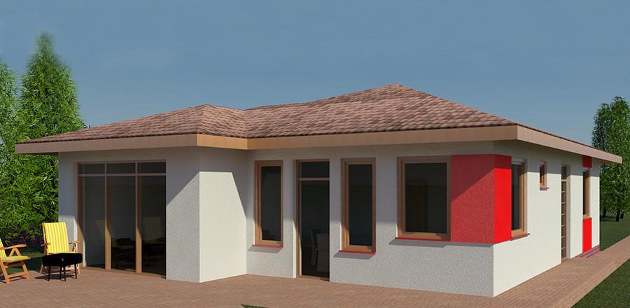 Nizkoenergeticky dom Eco 115 a Ecostav 900x440 Montovaný dom ECO   115