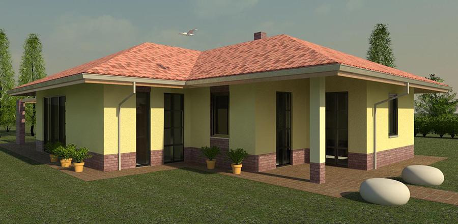 Nizkoenergeticky dom Eco 116 a Ecostav 900x440 Montovaný dom ECO   116