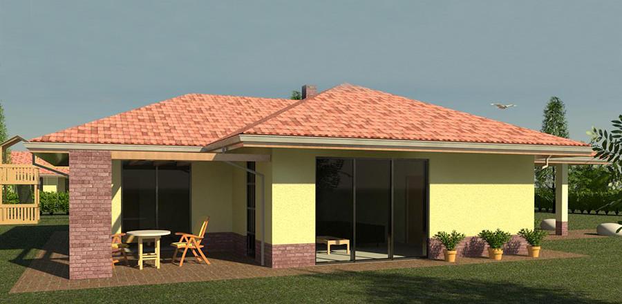 Nizkoenergeticky dom Eco 116 b Ecostav 900x440 Montovaný dom ECO   116