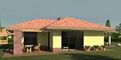 Nizkoenergeticky dom Eco 116 b Ecostav nav Montovaný dom ECO   115