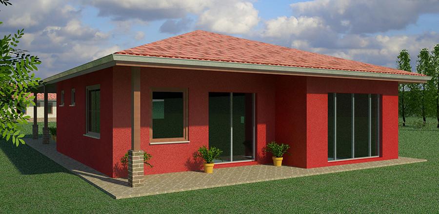 Nizkoenergeticky dom Eco 117 b Ecostav 900x440 Montovaný dom ECO   117