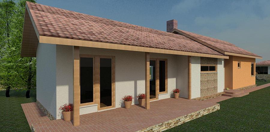 Nizkoenergeticky dom Eco 118 a Ecostav 900x440 Montovaný dom ECO   118