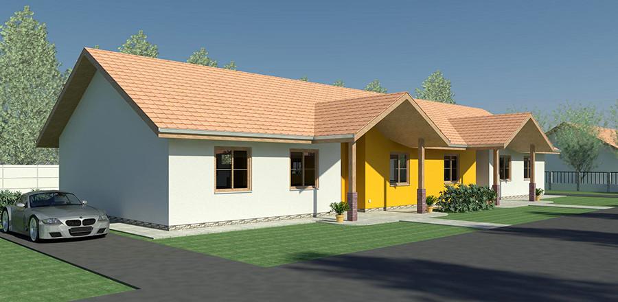 Nizkoenergeticky dom Eco Twin a Ecostav 900x440 Montovaný dom ECO   Twin