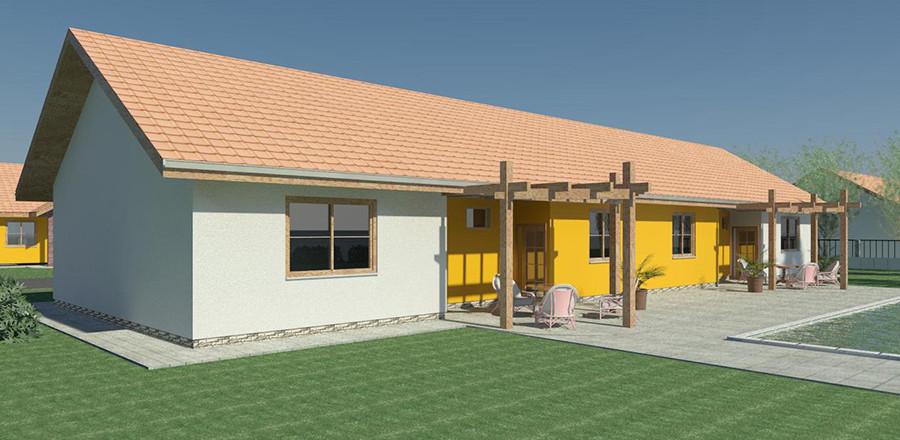 Nizkoenergeticky dom Eco Twin b Ecostav 900x440 Montovaný dom ECO   Twin