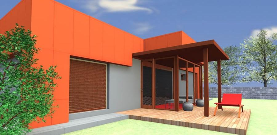 juzny pohlad montovany dom modern 101 900x440 Montovaný dom Modern   101
