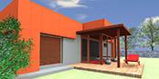 montovany dom modern 101 Montovaný dom ECO   120