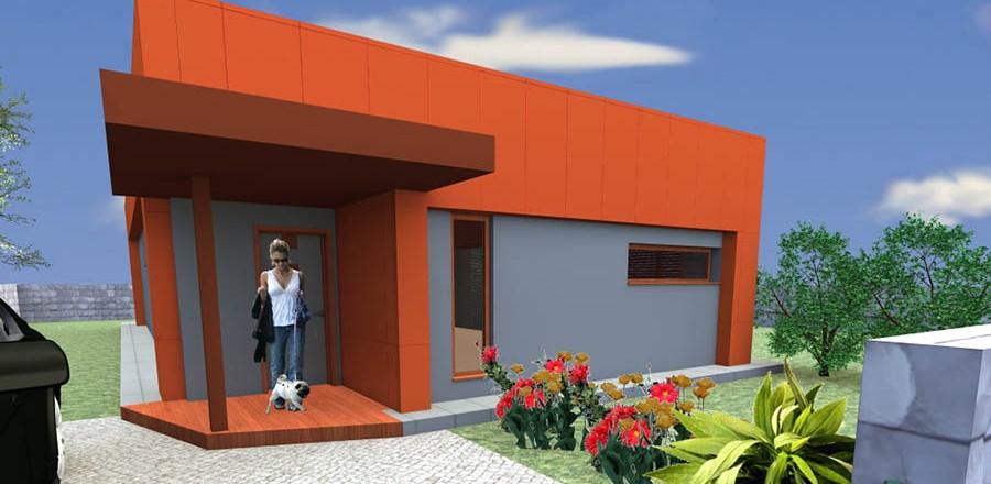 severny pohlad montovany dom modern 101 900x440 Montovaný dom Modern   101
