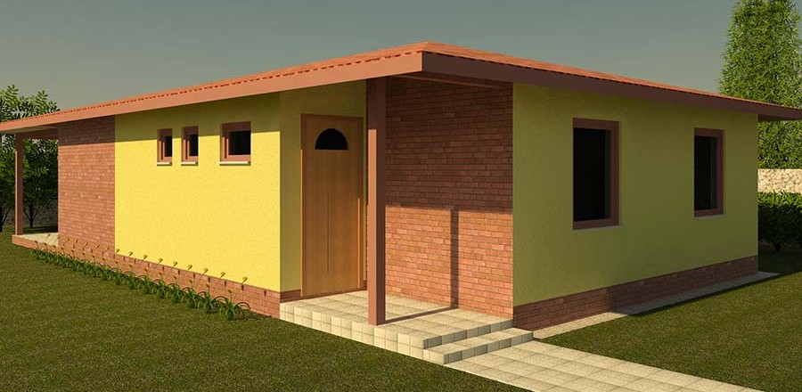 montovany dom eco 121 b 900x440 Montovaný dom ECO   121