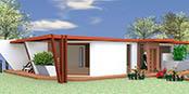 montovany dom modern 102 nav Montovaný dom ECO   120