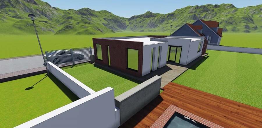 montovany dom modern 104 b 900x440 Montovaný dom Modern – 104