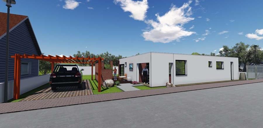 montovany dom modern 104 c 900x440 Montovaný dom Modern – 104