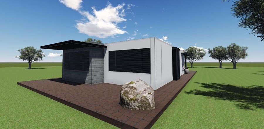 montovany dom modern 105 a 900x440 Montovaný dom Modern – 105