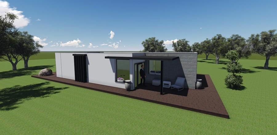 montovany dom modern 105 f 900x440 Montovaný dom Modern – 105