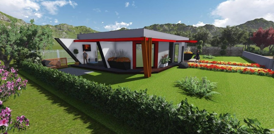 Ecostav modern 102 3 900x440 Montovaný dom Modern   102