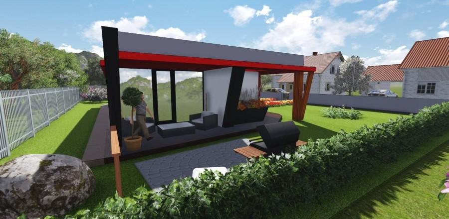 Ecostav modern 102 6 900x440 Montovaný dom Modern   102