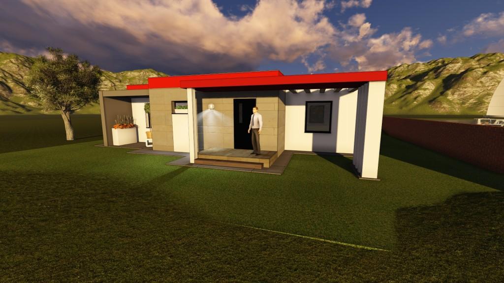 111 1024x576 Montovaný dom Modern   108