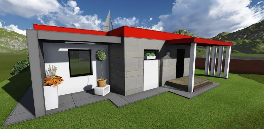 7 900x440 Montovaný dom Modern   108