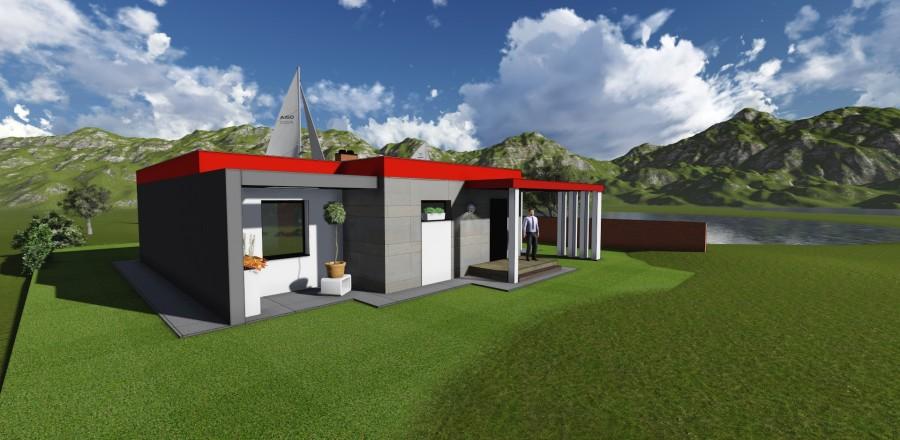 9 900x440 Montovaný dom Modern   108